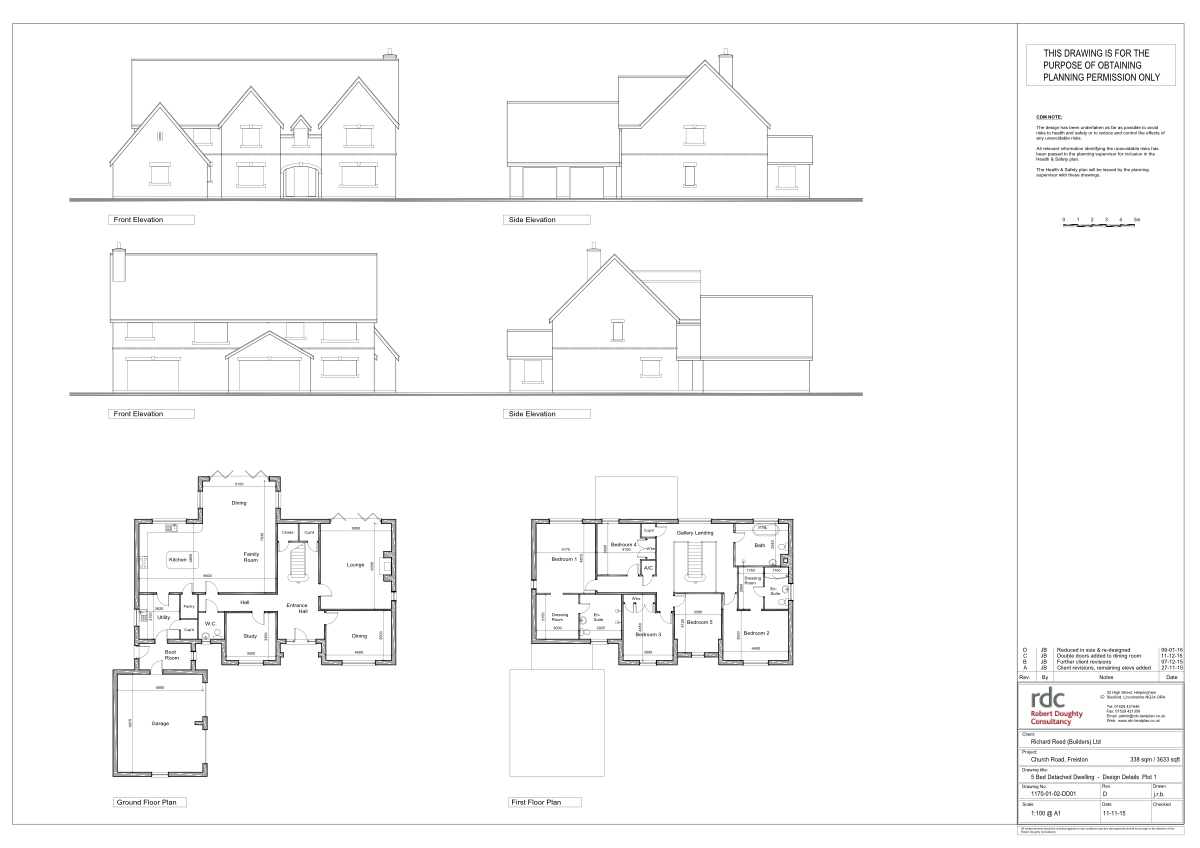 Plot 1 - Church Road, Freiston