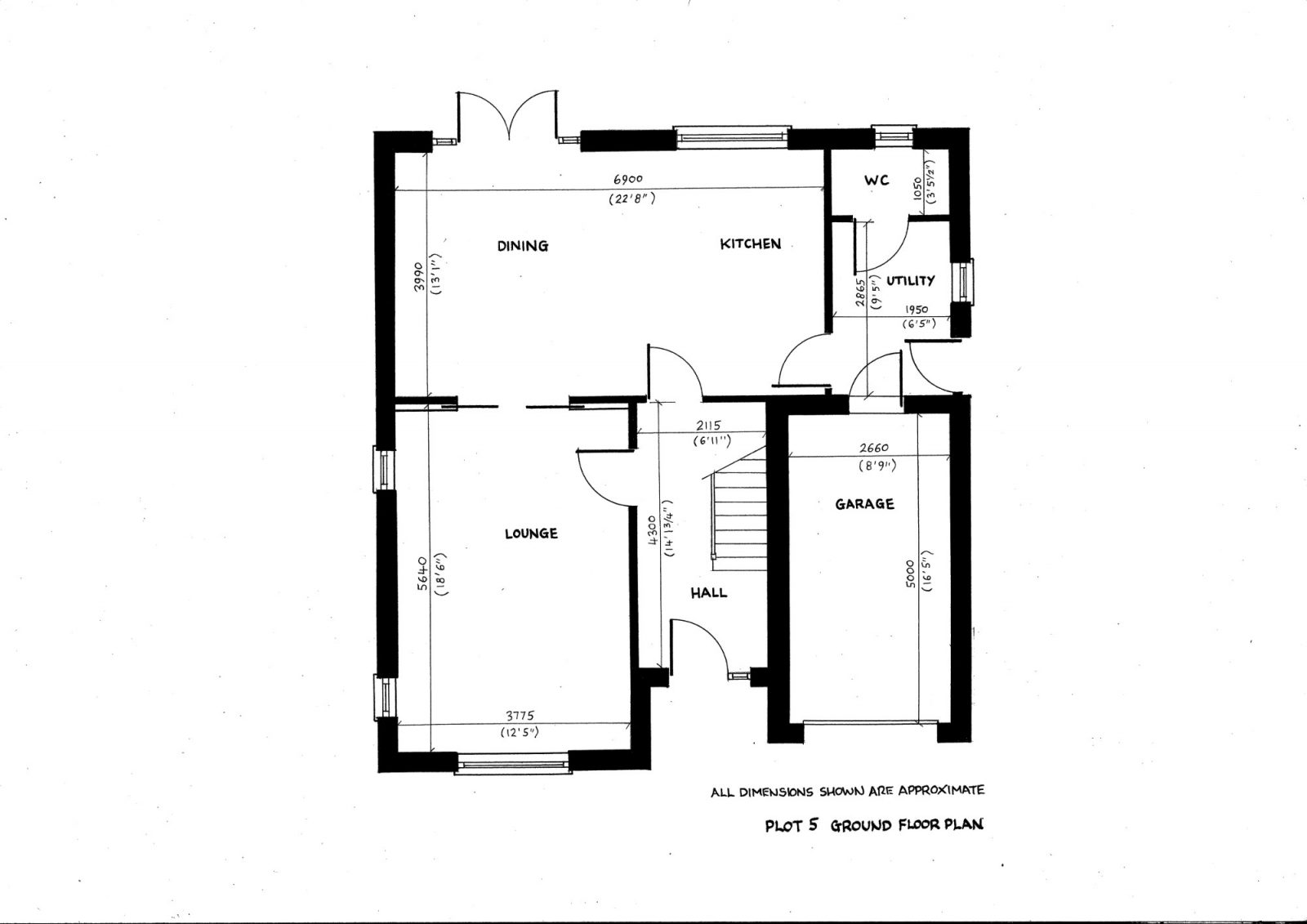 plot 5 ground floor plan