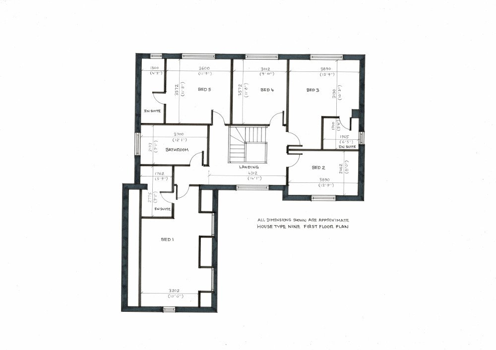 House Type 9. First floor plan_20191209