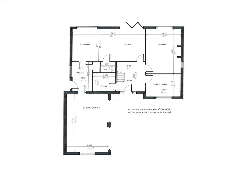House Type 9. Ground floor plan._05122019