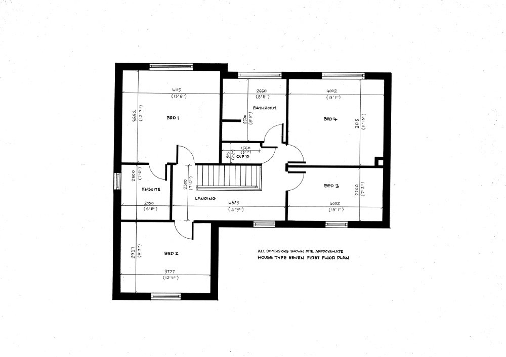 House Type Seven. First floor plan_13112019