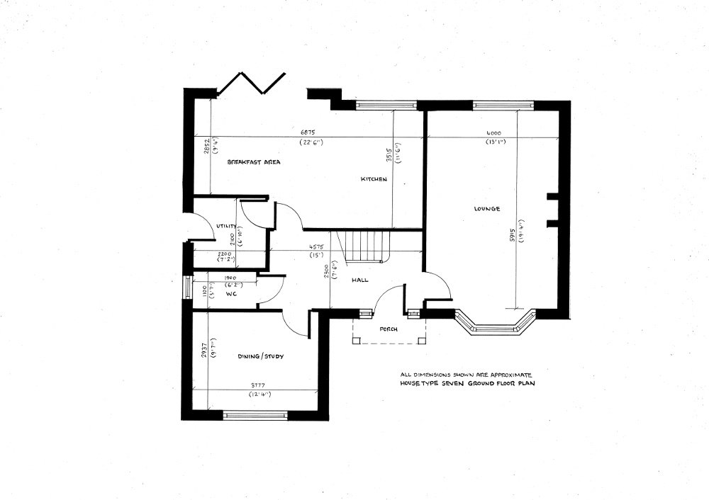 House Type Seven. Ground floor plan_13112019