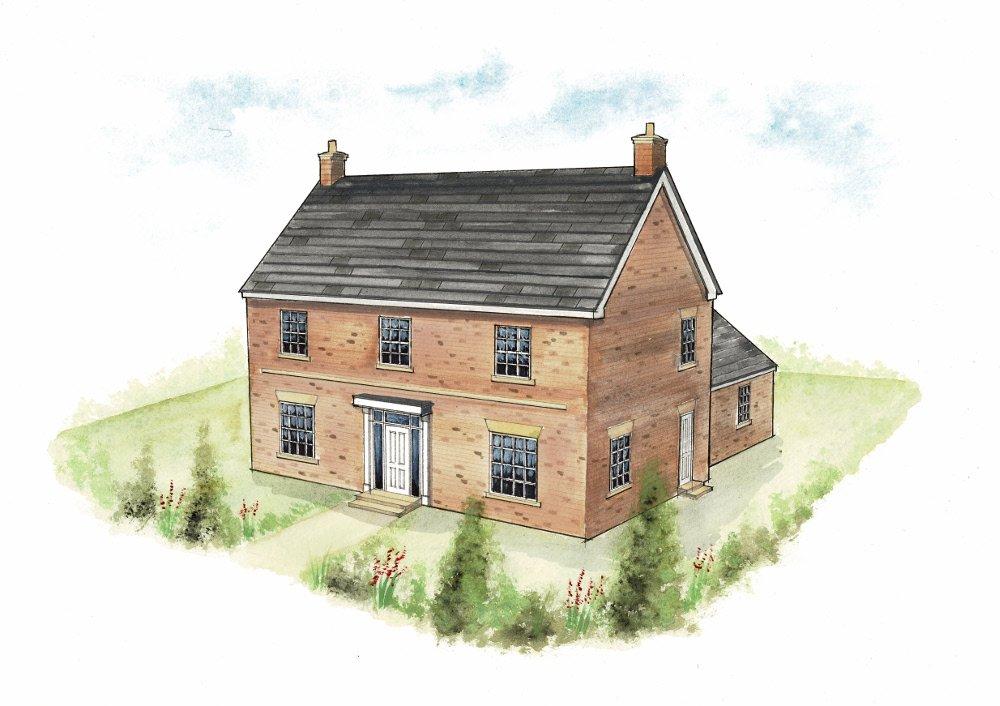 House type 4. Artist's impression_04102019