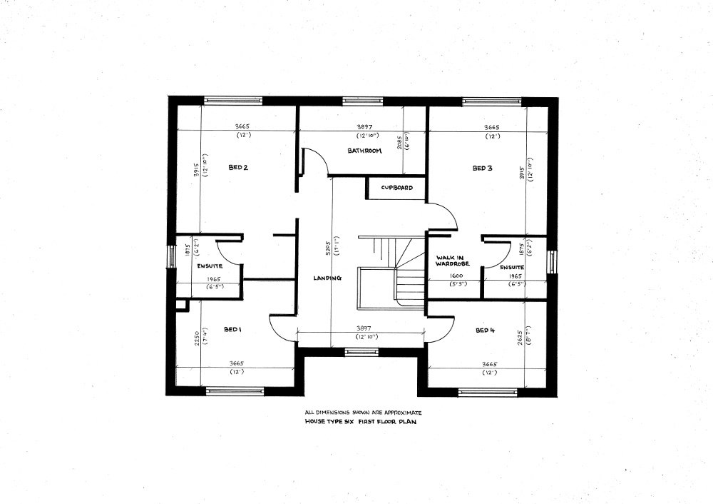 House type Six. First floor plan._31102019