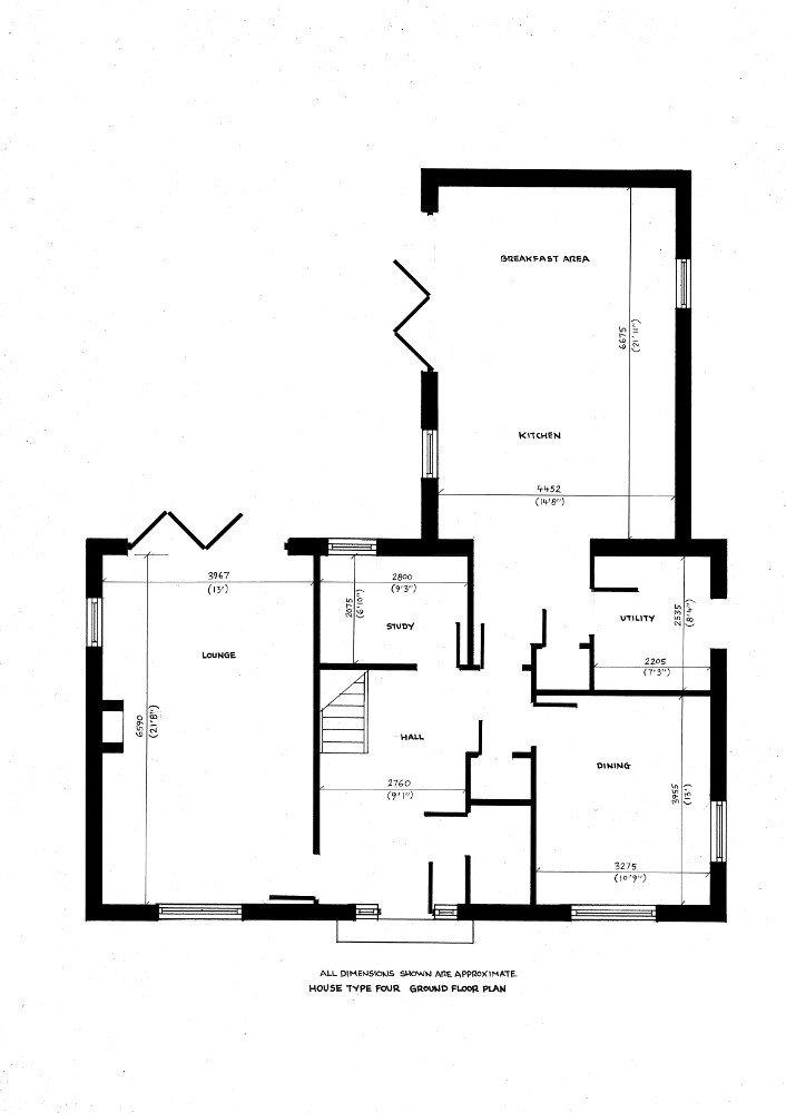 House type four. Ground floor plan._18092019
