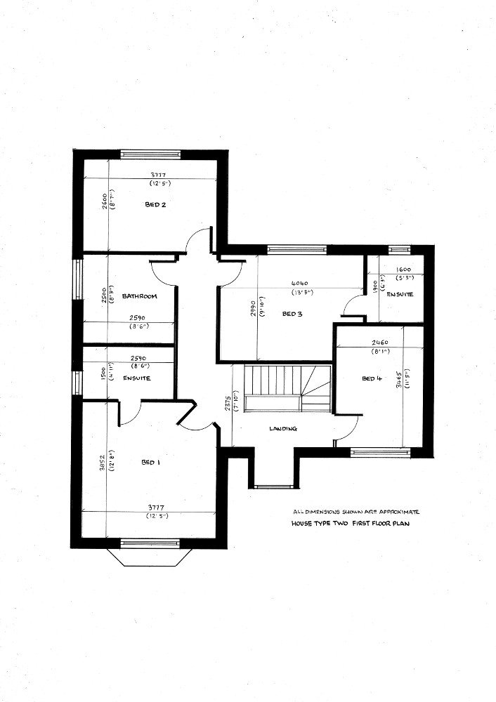 House type two. First floor plan._19082019